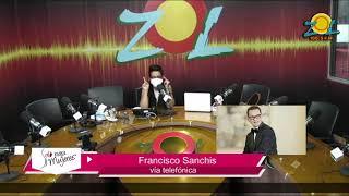 Francisco Sanchis comenta principales temas de la farándula 17-1-20118