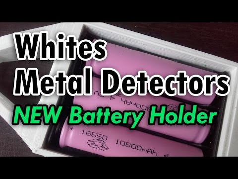 Whites high capacity battery holder/Whites NOWY zasobnik na baterie