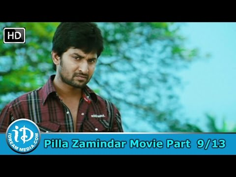 Pilla Zamindar Movie Part 9/13 - Nani, Haripriya, Bindu Madhavi