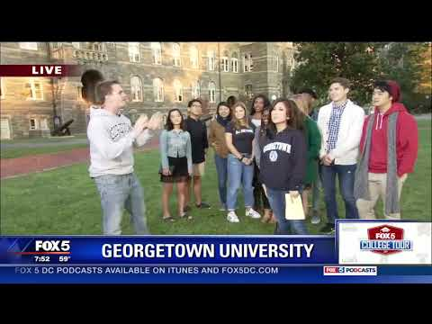 Georgetown Stories on Fox5DC