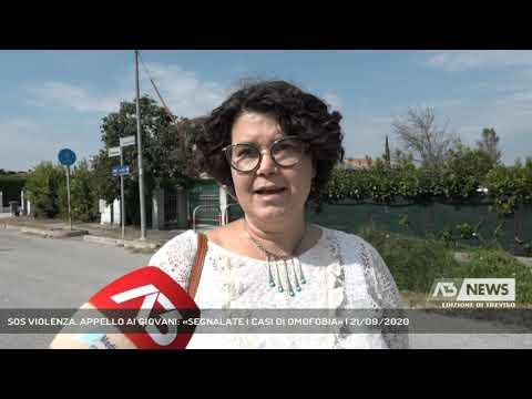 SOS VIOLENZA. APPELLO AI GIOVANI: «SEGNALATE I CASI DI OMOFOBIA» | 21/09/2020