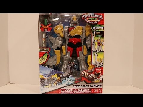 Deluxe Titano Charge Megazord Review [Power Rangers Dino Super Charge]