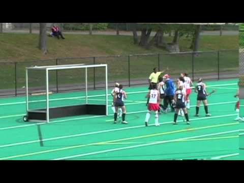Video Highlights Oct. 24, 2010: Women's Field Hockey vs Fairfield