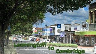 Cambridge New Zealand  city pictures gallery : Driving thru Cambridge New Zealand