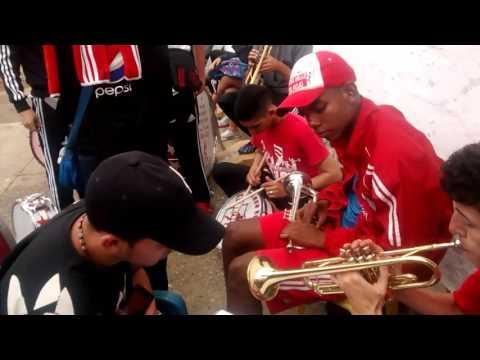 Brs Manizales la hinchada ya llego - Baron Rojo Sur - América de Cáli