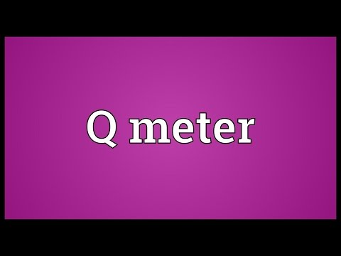how to measure the q factor