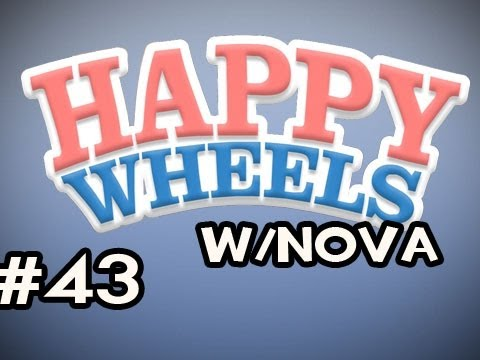 Happy Wheels w/Nova Ep.43 - IT KEEPS HAPPENING 2 OhmahGOD Video