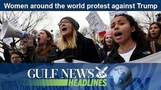 Daily headlines from the UAE and around the world brought to you by Gulf News. Women around the world protest against...