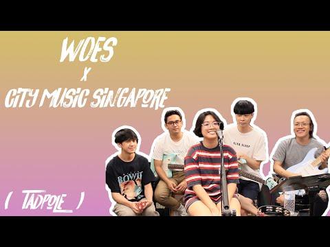 ZOOM LiveTrak L8: Woes x CityMusicSingapore - Tadpole