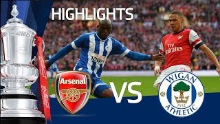 Download Video ARSENAL VS WIGAN ATHLETIC 1-1 (ARSENAL WIN ON PENALTIES): Goals and highlights FA Cup Semi Final MP3 3GP MP4