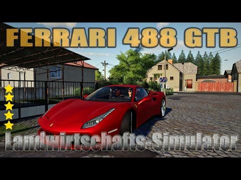 Ferrari 488 GTB Fs19 v1.0