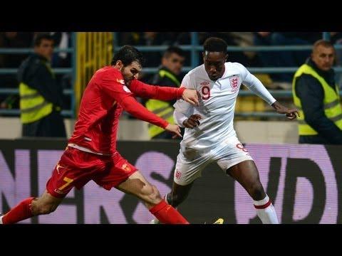 Montenegro 1 - 1 England