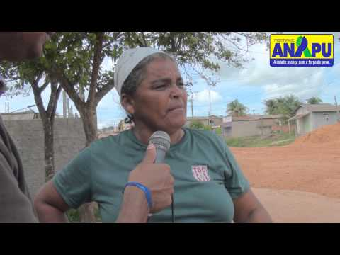 AVENIDA SANDRO SCARPARO EM ANAPU COM NOVA ESTRUTURA GESTÃO 2013-2016.
