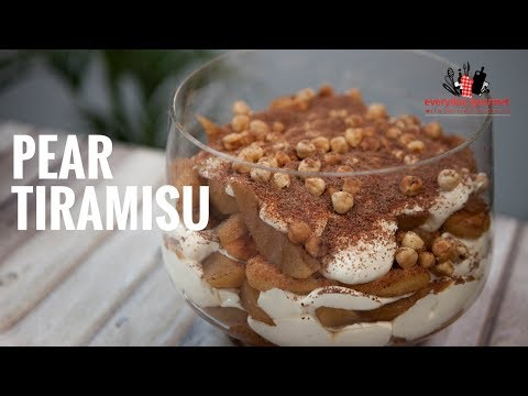 CSR Pear Tiramisu | Everyday Gourmet S6 E31