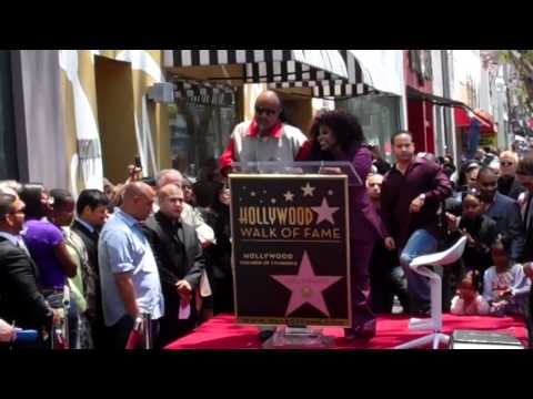 Chaka Khan Walk of Fame Ceremony
