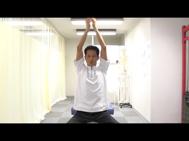 【セルフケア動画】腰椎分離症・すべり症 肩甲骨周りのストレッチ