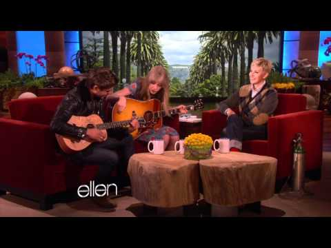 duet - This incredible duo teamed up to perform an original song for Ellen! They may not have had a lot of rehearsal, but it's clear that this is one musical combo ...