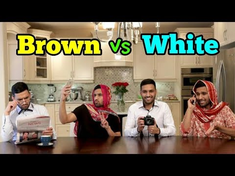 ZaidAliT - Brown vs White - Best Collection Ever - Zaid Ali Brown vs White Funny videos