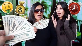 Video GIVING MY MOM $100 EVERY 10 MINUTES... MP3, 3GP, MP4, WEBM, AVI, FLV Desember 2018