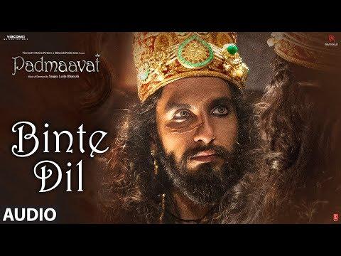 Padmaavat: Binte Dil Audio | Arijit Singh | Deepik
