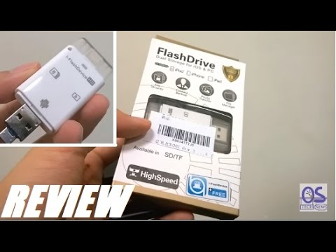 Unboxing: iFlashDrive SD Reader for iPhone/Android OTG