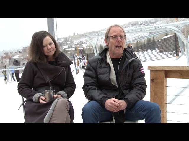 Slopeside with Geraldine Brooks & Tony Horwitz