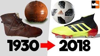 Video World Cup Evolution!! Soccer Cleats & Ball History MP3, 3GP, MP4, WEBM, AVI, FLV September 2018