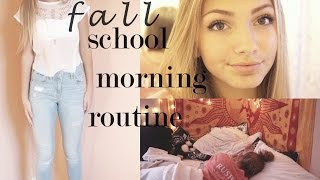Fall School Morning Routine 2014