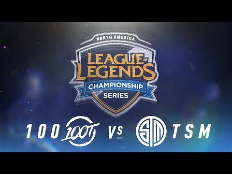 100 vs. TSM - Week 7 Day 2 | NA LCS Spring Split | 100 Thieves vs. TSM (2018)