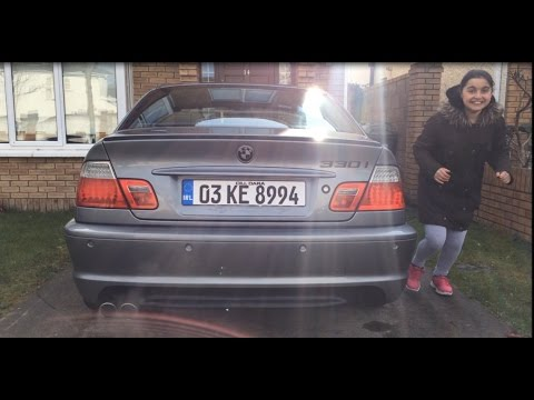 BMW E46 320CI Magnaflow  Exhaust (Cold Start)