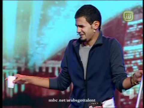 Arabs Got Talent - Ep 5 - نذير الخوالدة