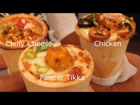BEST CONE PIZZA EVER  |  KEMPS CORNER  |  MUMBAI