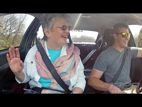 One mom's reaction to 900 horsepower in a 3Dx Evo X
