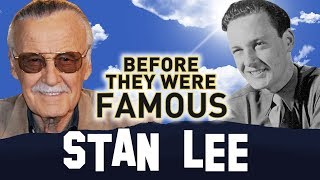 Video STAN LEE | Before They Were Famous | MARVEL MP3, 3GP, MP4, WEBM, AVI, FLV Mei 2018