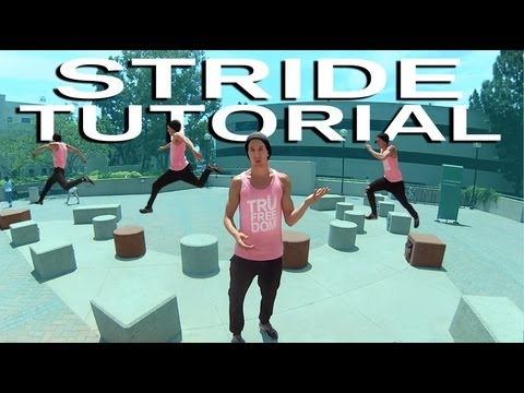 How To STRIDE &amp; Bound : Parkour TUTORIAL (Jesse La Flair)_Legjobb videk: Extrm