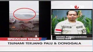Video [BREAKING NEWS] Terjadi Tsunami Setelah Gempa 7,7 SR Di Palu dan Donggala MP3, 3GP, MP4, WEBM, AVI, FLV Desember 2018