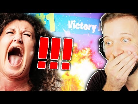 THIS MOM IS TOO ANGRY... BUT WE ARE _1!! • Fortnite Battle Royale Gameplay (Silenced SMG Update)