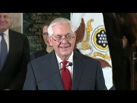 Secretary Tillerson Delivers Farewell Remarks to the Department of State