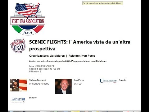 Video SCENIC FLIGHTS: l' America vista da un'altra prospettiva (1-2-2018)