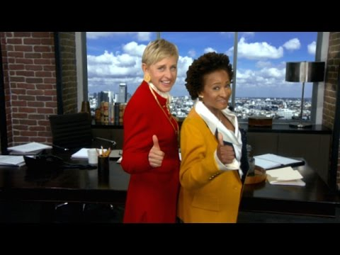 black and white - Ellen teamed up with the incredible Wanda Sykes for a new dramatic show that's about to take television by storm.