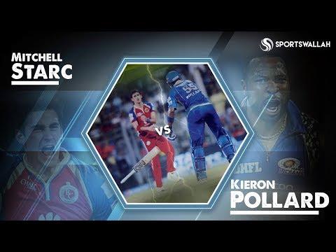 Video IPL Masala - Kieron Pollard vs Mitchell Starc download in MP3, 3GP, MP4, WEBM, AVI, FLV January 2017