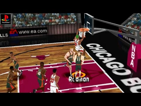 NBA Live 97 - Gameplay PSX / PS1 / PS One / HD 720P (Epsxe)