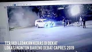 Video Ledakan di Dekat Lokasi Nobar Debat Capres 2019 di Area Parkir GBK