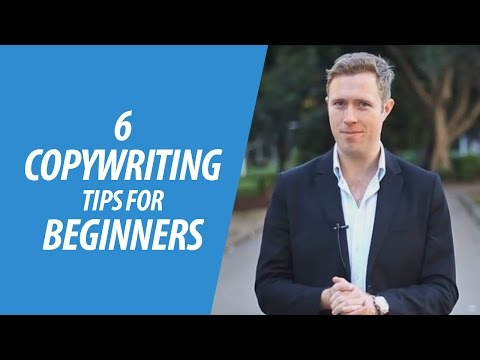 6 Copywriting Tips For Beginners