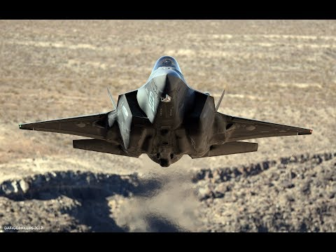 F-35  Lightning   -  Death Valley (4k)