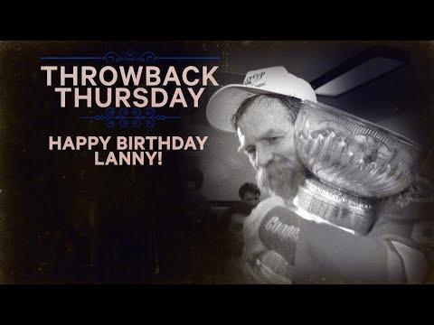 Video: TBT: Happy Birthday Lanny McDonald