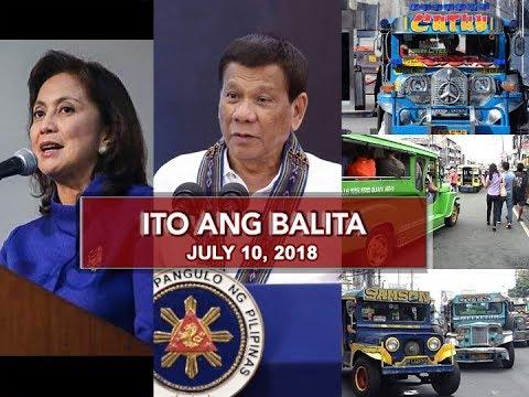UNTV: Ito Ang Balita (July 10, 2018)