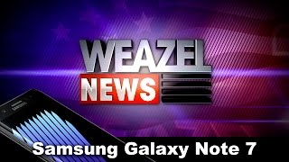 Weazel News Samsung Galaxy Note 7 Launch Event (GTA V)