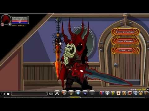 AQWorlds - Getting Dragon Blade Of Nulgath!