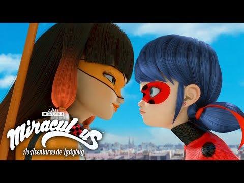 Miraculous 🐞 Volpina 🐞 Miraculous As Aventuras de Ladybug (видео)